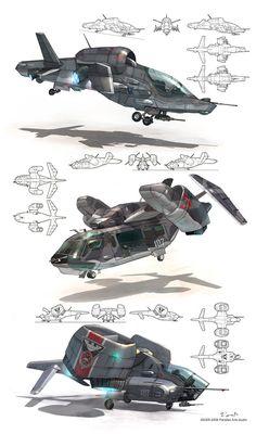 concept ships: Dmitry Popov concept ships