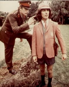 George Harrison in one of Monty Python's films.