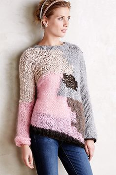 Knitcollage Pullover