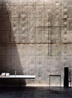 tadao ando.  The master of light + concrete.