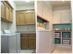 Budget Laundry Room Makeover