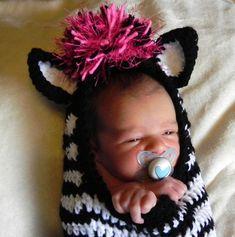 Zebra cocoon!