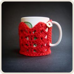 Shara Lambeth Designs: Dentelle Cup Cosy