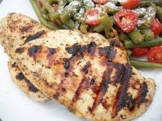 Grilled Balsamic Chicken - Lean and Green Recipes