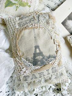 Paris pillow