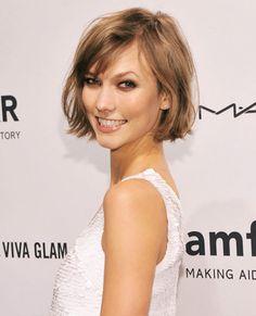El corte de pelo de Karlie Kloss, nos encanta que se atreva a usarlo corto y aun así se ve guapísima.