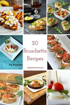 20 Bruschetta Recipe