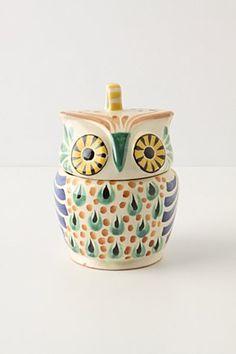 Mr. Owl Sugar Bowl   Anthropologie.eu