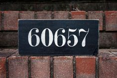 Sentimental Zip Code Sign | Signs by Andrea - only $35 plus it's 25% off today!