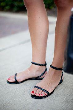 Valentino sandals.