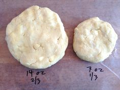 pie crust calculations.