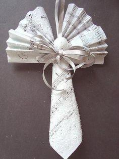 angel paper ornament