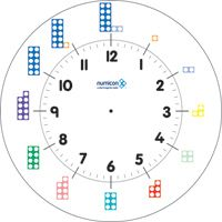 Maths Resource Telling the time Numicon