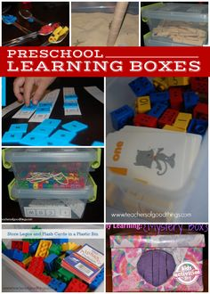 10 Preschool Learning Boxes - Kids Activities Blog kid activities, learn box, kids activity blog, preschool boxes, learning boxes, busy box ideas, activity box, preschool learning