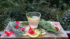 #DIY Lemon Ginger Lavender #Spa Elixir from The Umstead Hotel and Spa via @agirlsgottaspa