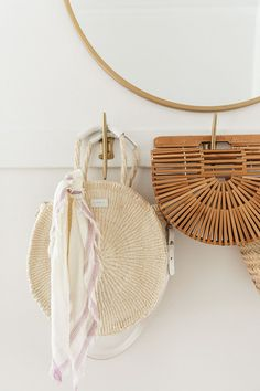 Straw bags....