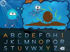Spellyfish Phonics - Short A Words ($2.99) learn phonics & the primary letter sounds & letter names for the alphabet. Learn how words can be broken up into separate sounds & how the letter sounds can be blended together to form short words. Also learn how to recognize both the lower & upper case letters of the alphabet. Learn about the starting sounds of words & how the ending sounds of words can make some words rhyme w/ each other.