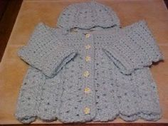 Another free baby sweater pattern