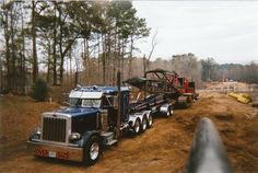 Big boy trucking!  Off road, heavy haul, mega machine moving!