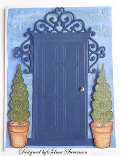 Selma's Stamping Corner: Madison Door die.