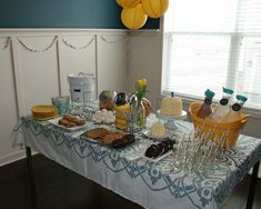 Milk and cookies party-maybe for a girls movie night. Great if you don't drink alcohol!