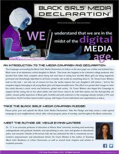 Black Girls' Media Declaration