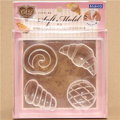 soft mold for clay bread & pastry from Japan