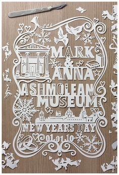 paper cut, julen harrison, wedding invitations, paper art, papers