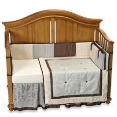 BBB - Park Avenue 4-Piece Crib Bedding Set and Accessories