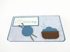 I Love Knitting Checkbook Cover Knitters Checkbook Cover,Gifts for Knitters