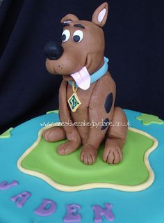 Scooby Doo cake by Creative Cakes by Clare, via Flickr
