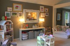 Project Nursery - Vintage Chic Playroom View of the Room