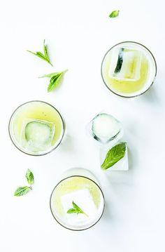 Pineapple Mint Agua