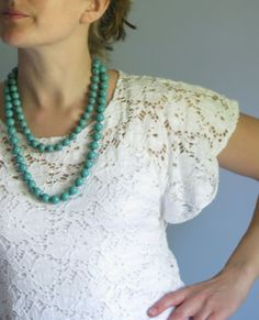 Art lace top - DIY style