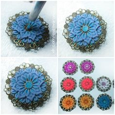 Blossoming filigree tutorial