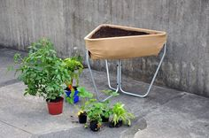 hochbeet: raised urban gardening by thinking hands - designboom | architecture & design magazine