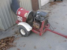 Buffalo Turbine Blower- for parts has a blown  engine- Make an Offer