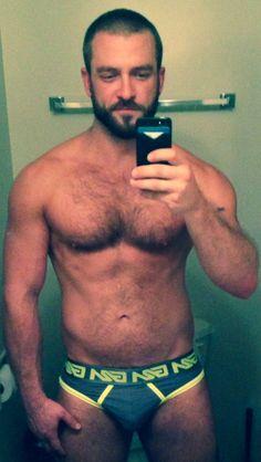 Real men in underwear - Garcon Model