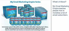 "My Email Marketing Empire Series ""Create Over 23 Different Income Streams, And Recruit WITHOUT Ever Having To Cold Call..."""