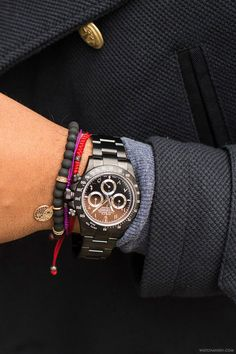 Black Rolex Daytona with Arabic/Hindi numeral dial, made byBrevetPlus.More of our footage