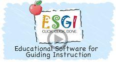 ESGI Educational Software for Guiding Instruction $199.00 per teacher per year