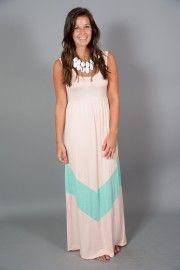 Robin Beach Maxi Dress-Seashell/Mint