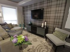 Property Brothers' Living Room Makeover...Yay or Nay? #pinwithmeg