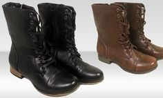 Groupon - Shoes of Soul Combat Boots. Multiple Options Available. in Online Deal. Groupon deal price: $24.99