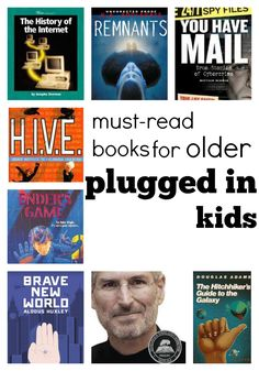 Have a child who is obsessed with tech? Our #RaiseaReader blog has books that will interest him or her. Click for more. read books, parent, books for kids