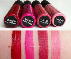 NYX Soft Matte Lip Cremes, Photos, Swatches, and Review - asoftblackstar
