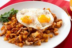 Shredded Chicken Hash from Love Your Leftovers by Nick Evans