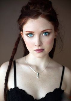 Opaque - Suicide Girls face, girl, red hair, beauti, gingers, redheads, redhair, blues, eyes