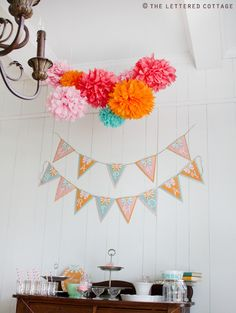 Cute colors for a special shower!