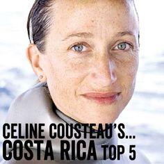 Celine Cousteau's Costa Rica Top 5   Contiki Exchange